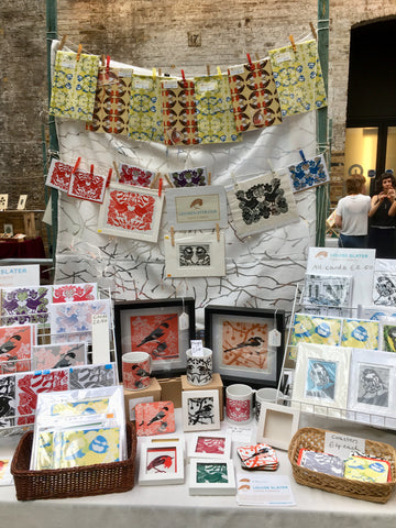 Louise Slater Art at House of Illustration Summer Fair 2019