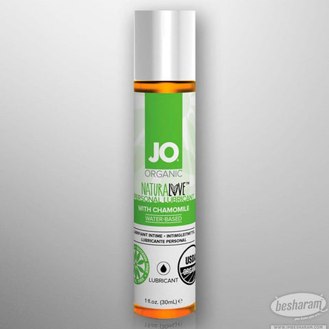 System JO USDA Certified Organic Waterbased Lubricant