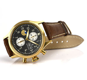 Nav B Chrono 44 Bronze, KIGA No.2 Limited No 144 of 222  only one last exemplar here available !!!