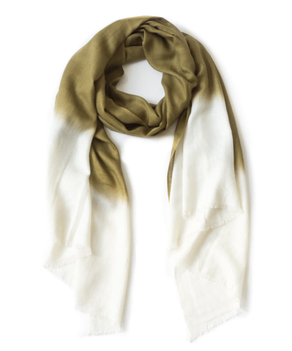 TANTA SCARF - CENTER DIPPED