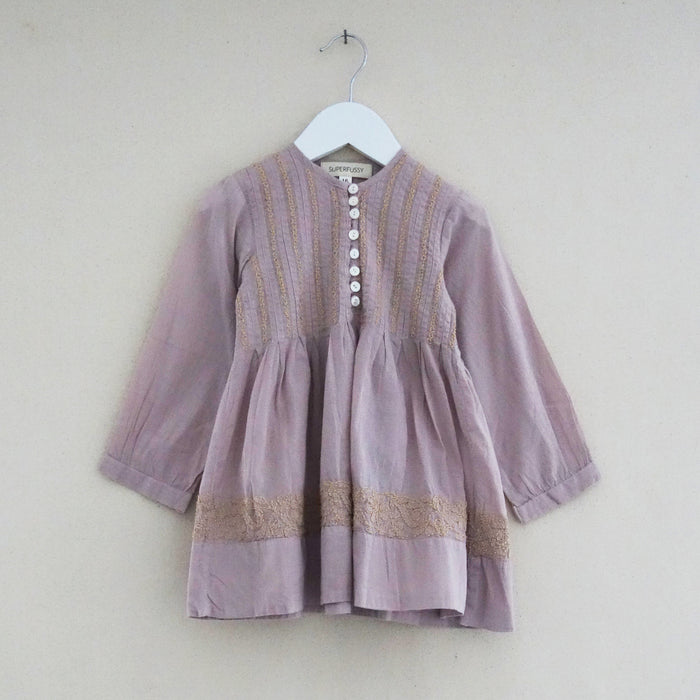 Pleated Dress Lavender