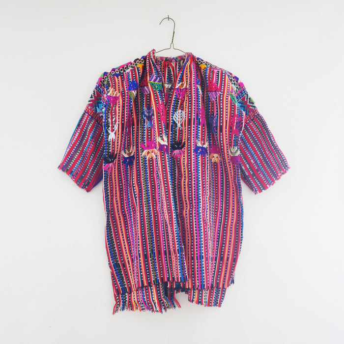 Solola Huipil Tunic Red