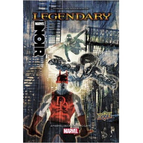 LEGENDARY : A Marvel Deck Building Game - NOIR