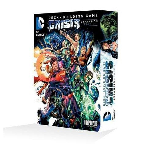 DC Comics Deck-Building Game - Crisis Expansion (Pack 1)