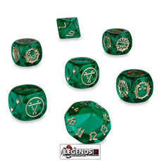 BLOOD BOWL - Skavenblight Scramblers Dice Set
