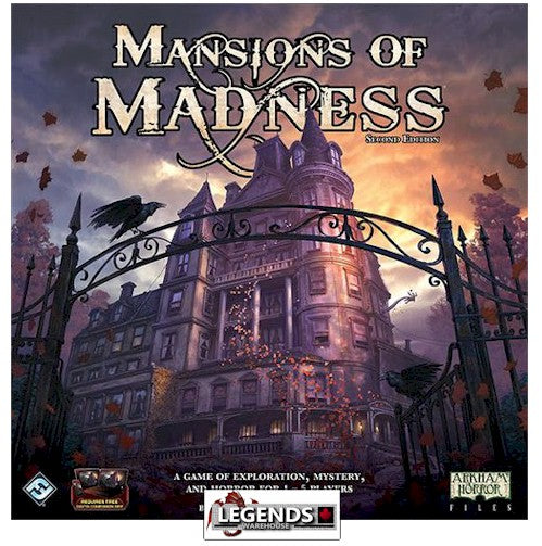 MANSIONS OF MADNESS - 2ND EDITION