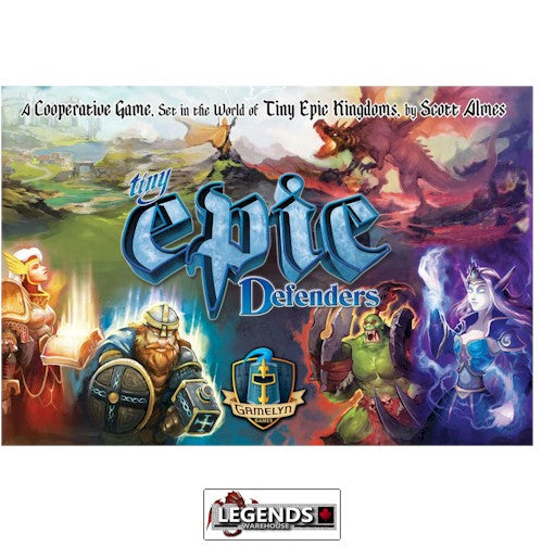 TINY EPIC - DEFENDERS  (2nd Edition)