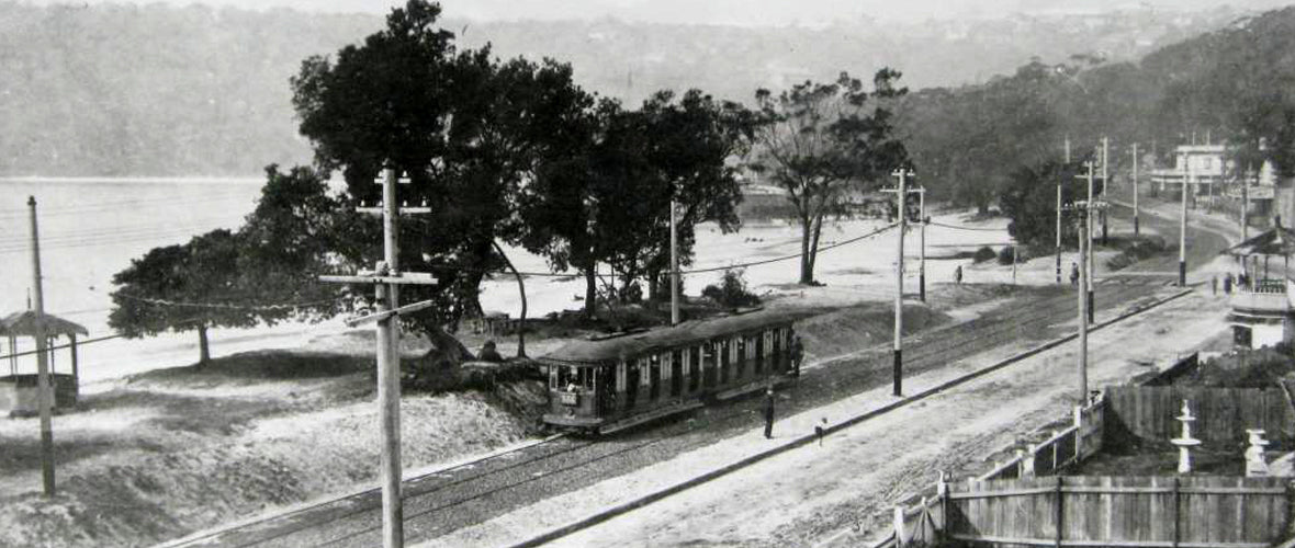 Tram at Balmoral Beach Mosman