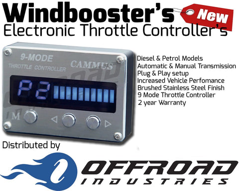Mitsubishi Triton 2005 -2015 MN and ML Windbooster Throttle Controller