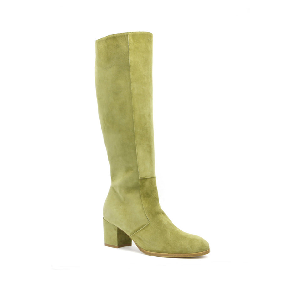 Aluk Knee Boot <b>Moss Suede</b>