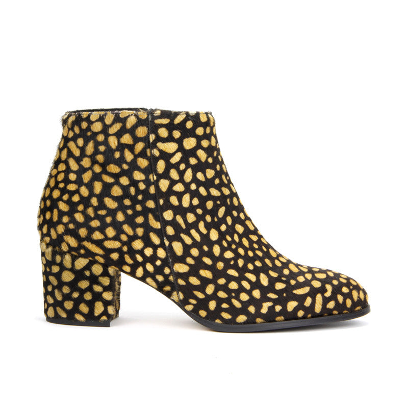 Valerie Ankle Boot <b>Leopard-print Calf Hair</b>
