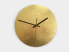 Pure Brass - Wanduhr - Wall Clock