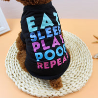 Eat Sleep Play Poop Repeat Dog Shirt