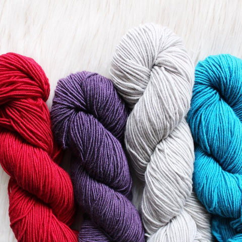 Crochet Yarn - Superwash Merino and Nylon