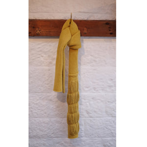 Nancy Scarf in Brass