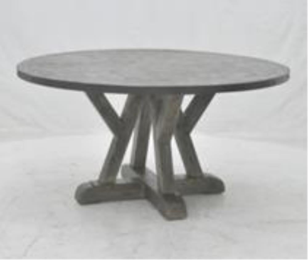 LUSTY ROUND TABLE 1520 DR-4 BROWN