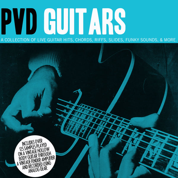PVD Guitars Vol. 1 (Sample Pack)