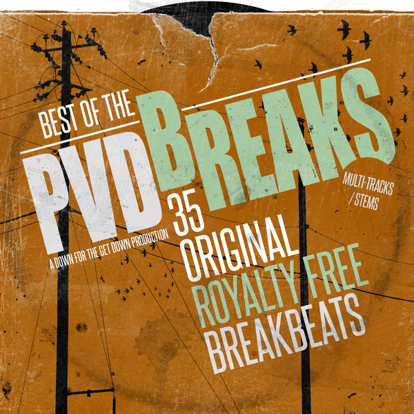 PVD - Best Of The Breaks (35 Original Royalty Free Breaks + Stems)