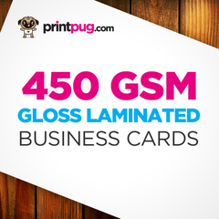 Business Cards - 450gsm Gloss Laminated