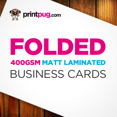 Business Cards - Folded