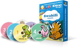 Dino Creole Haitian DVD Course for Children