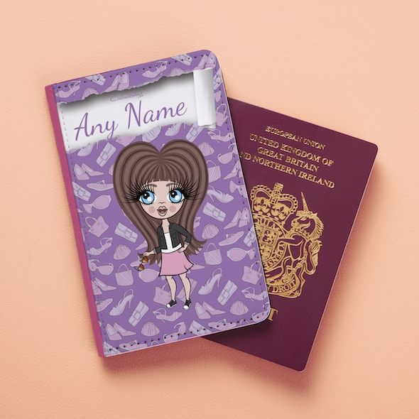Claireabella Girls Fashionista Passport Cover - Image 2