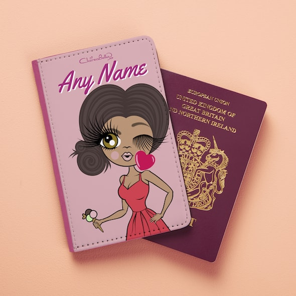 ClaireaBella Close Up Passport Cover - Image 1