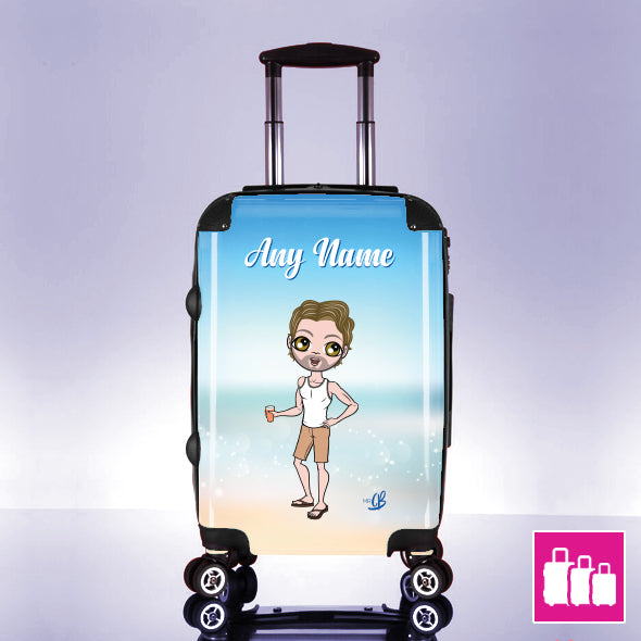 MrCB Beach Colours Suitcase - Image 1