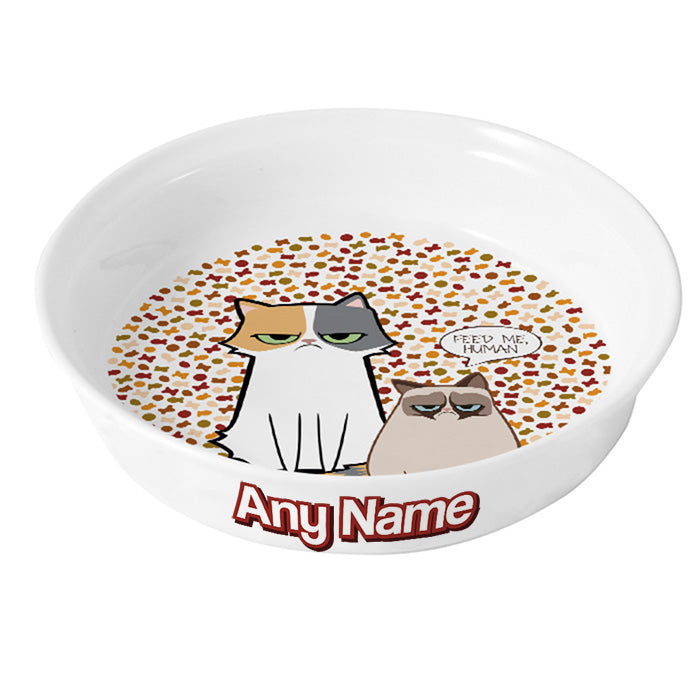 Grumpy Cat Feed Me Cat Bowl