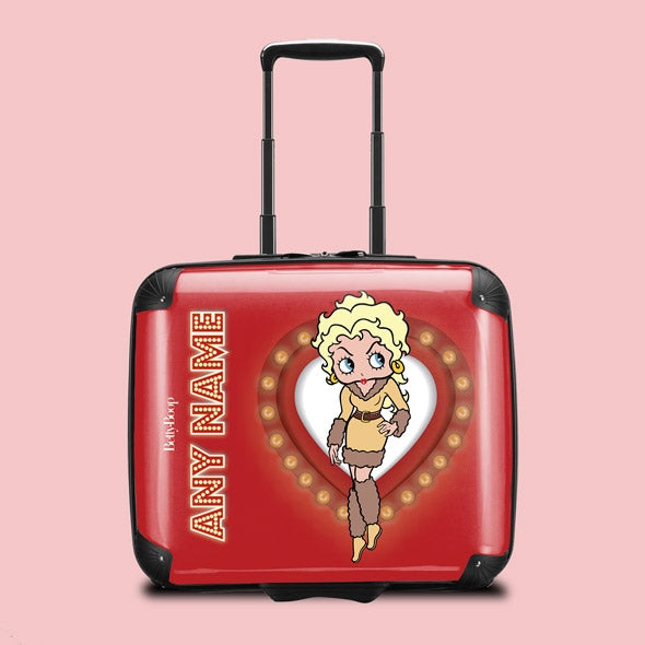 Betty Boop Name In Lights Weekend Suitcase - Image 1