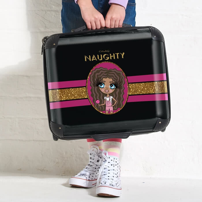 ClaireaBella Girls Slogan Weekend Suitcase - Image 3