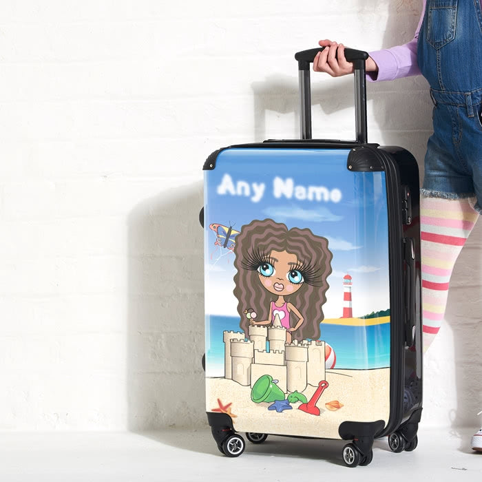 ClaireaBella Girls Sandcastle Fun Suitcase - Image 3