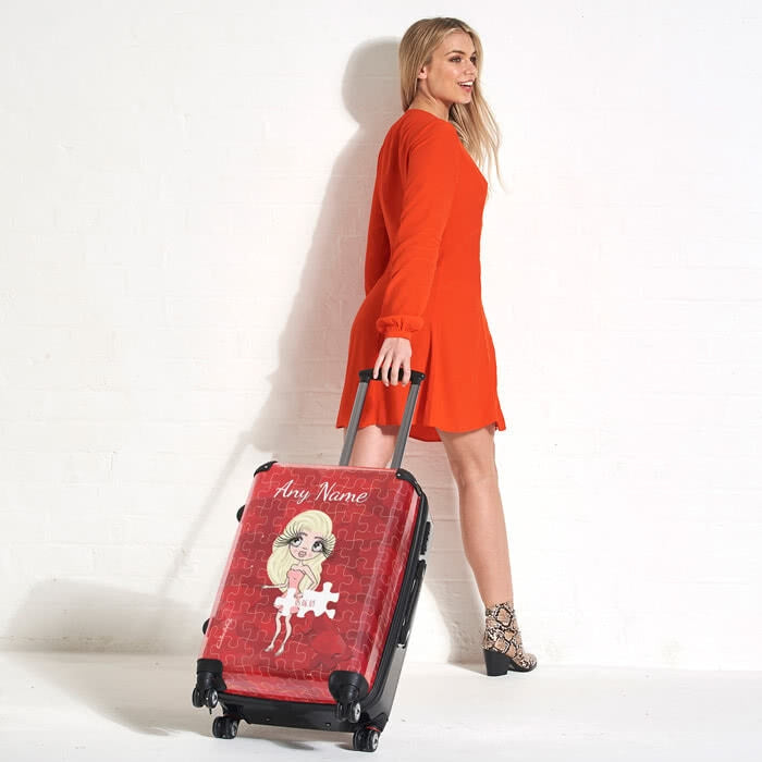 ClaireaBella Piece of Me Suitcase - Image 4