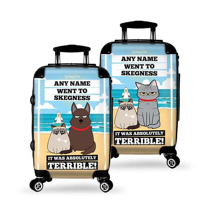 Grumpy Cat Destination Suitcase - Image 2