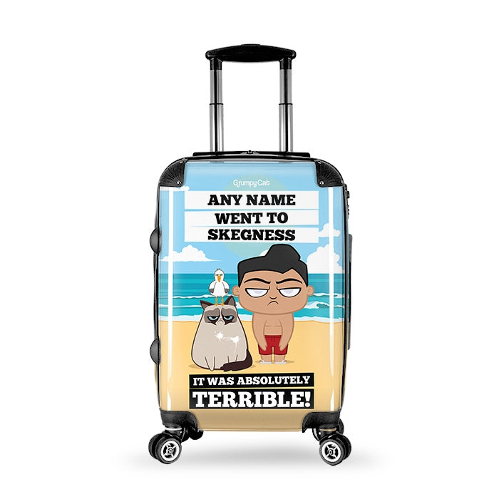 Grumpy Cat Destination Suitcase - Image 1