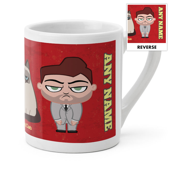 Grumpy Cat Red Mug