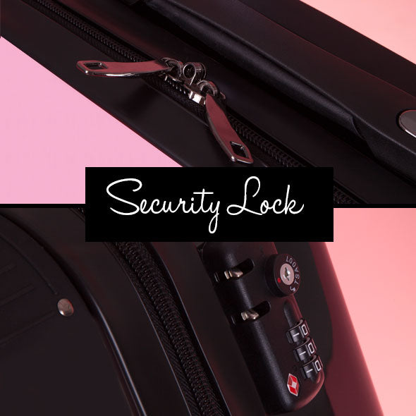 ClaireaBella Girls Pastel Pink Suitcase - Image 9