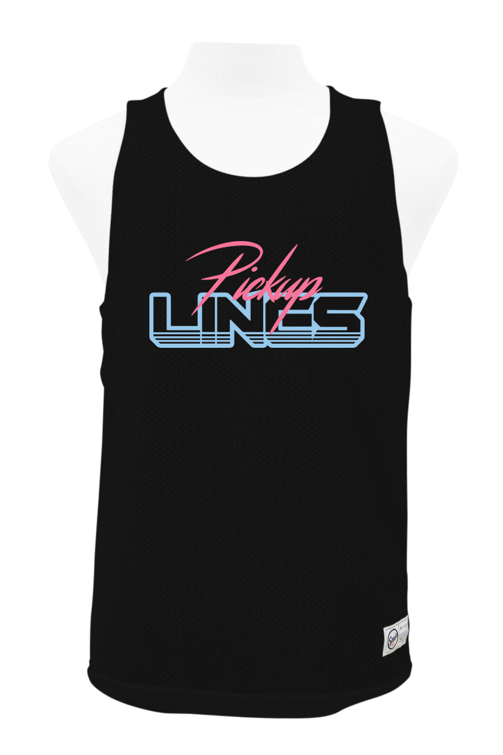 Pick-Up Lines Reversible Tank (Black/White)