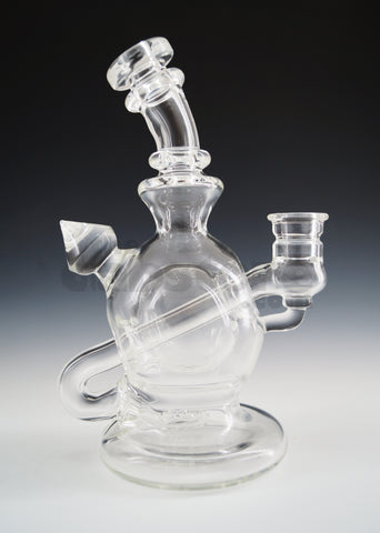 Huffy Glass - Clear Ball Rig 14 MM Female Joint