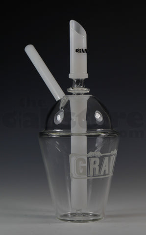 Grav Labs White Icee Cup Rig 14 MM Female