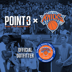 Announcing: POINT 3 x NY KNICKS