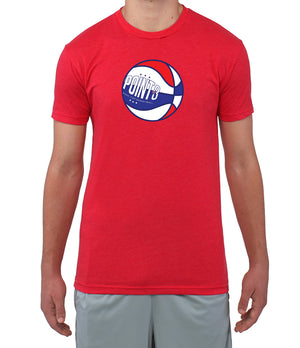 Red, White & Ball Graphic T