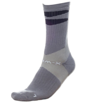 X-Wrap Basketball Socks Grey/Black