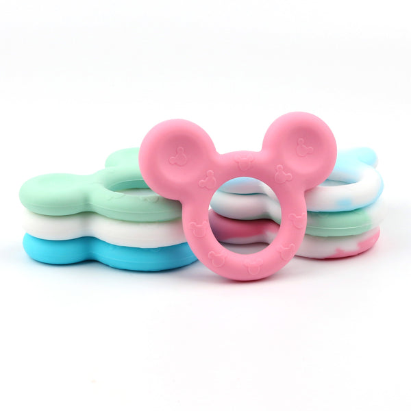 TYRY.HU Baby Mickey Shaped Silicone Teether Teething Toys - TYRY.HU