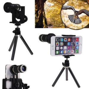 Universal MPT01 8X Optical Telescope Zoom Camera Lens for All Cellphone