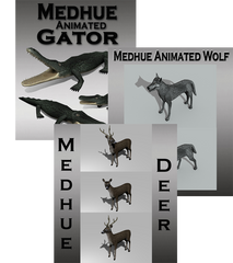 Medhue Unity Animal package