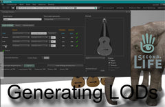 Generating LODs in Second Life - Tutorial