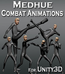 Medhue Combat Animations for Unity3D