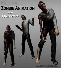 Medhue Unity3D Zombie Animation