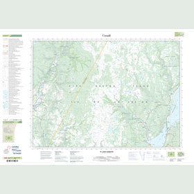 Canadian Topo Map - St. Anns Harbour - Map 011K07